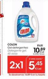 Oferta de COLON Detergente gel por 10.89€