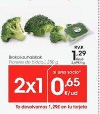 Oferta de Floretes de brócoli por 1.29€