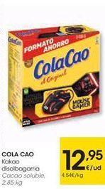 Oferta de COLA CAO Cacao coluble por 12.95€