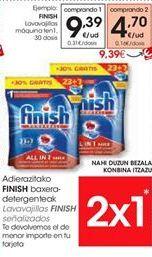 Oferta de FINISH Lavavajillas máquina  por 9.39€