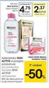 Oferta de Los productos faciales SKIN ACTIVE señalizados por 4.75€