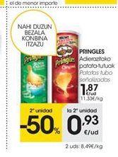 Oferta de Patatas fritas Pringles por 1.87€