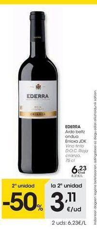 Oferta de Vino tinto por 6.23€