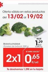 Oferta de Brócoli por 1.29€