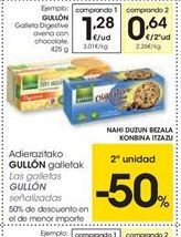Oferta de Galletas Digestive Gullón por 1.28€