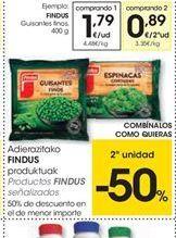 Oferta de Guisantes finos congelados Findus por 1.79€