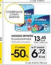 Oferta de Pañales Huggies por 13.45€