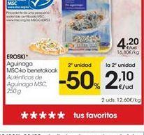 Oferta de Gulas eroski por 4.2€