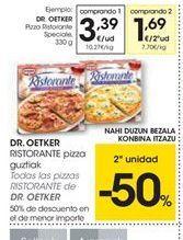 Oferta de Pizza Dr Oetker por 3.39€