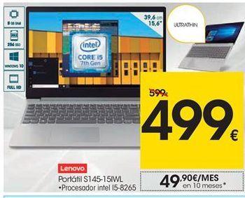 Oferta de  Lenovo portátil S1 4-15IWL por 499€