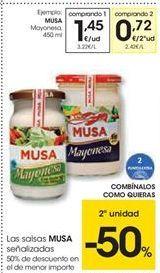 Oferta de Las salsas Musa señalizadas por 1.45€
