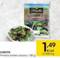 Oferta de Florette Primeros brotes classics por 1.49€