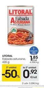 Oferta de LITORAL Fabada asturiana por 1.85€