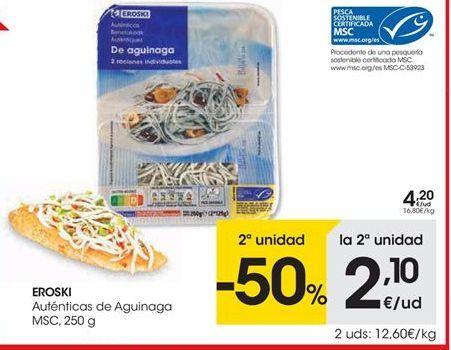 Oferta de Eroski Auténticas de Aguinaga por 4.2€