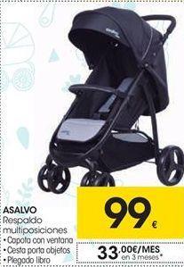 Oferta de ASALVO respaldo multiposiciones por 99€