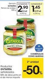 Oferta de Productos Gvtarra señalizados por 2.9€