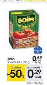 Oferta de SOLÍS tomate frito  por 0.59€