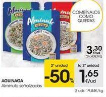 Oferta de Aguinaga alminuto señalizadas por 3.3€