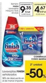Oferta de Detergente Finish por 9.35€