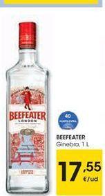 Oferta de Beefeater ginebra  por 17.55€