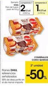 Oferta de Flanes DHUL referencias señalizadas por 2€