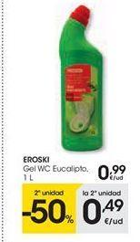 Oferta de EROSKI gel wc eucalipto por 0.99€