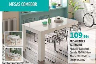 Oferta de Mesa extensible por 109.95€