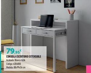 Oferta de Escritorio por 79.95€
