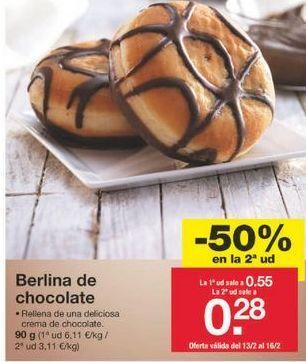 Oferta de Berlinas por 0.41€