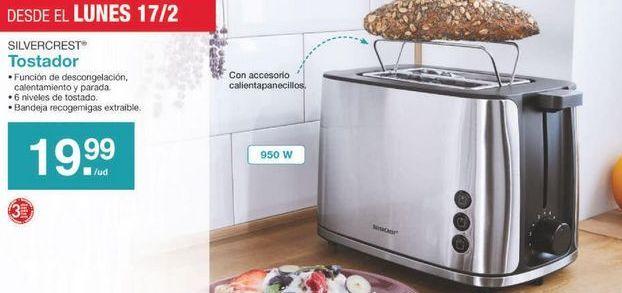 Oferta de Tostadora SilverCrest por 19.99€