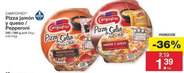 Oferta de Pizza Campofrío por 1.4€