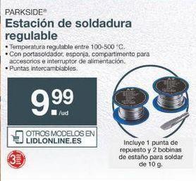 Oferta de Soldador Parkside por 9.99€
