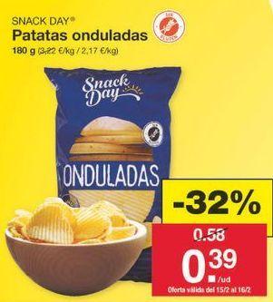 Oferta de Patatas fritas Snack Day por 0.39€