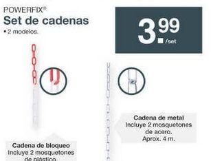 Oferta de Cadena Powerfix por 3.99€