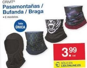 Oferta de Pasamontañas para casco Crivit por 3.99€