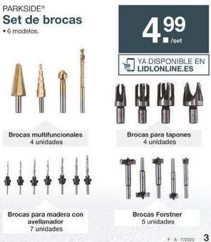 Oferta de Brocas Parkside por 4.99€