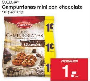 Oferta de Galletas Campurrianas Cuétara por 1€