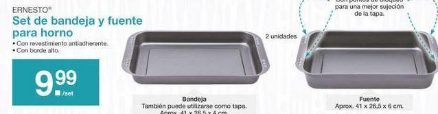 Oferta de Bandeja de horno ernesto por 9.99€