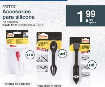 Oferta de Silicona Pattex por 1.99€