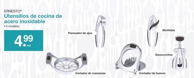 Oferta de Utensilios de cocina ernesto por 4.99€