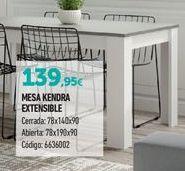 Oferta de Mesa extensible por 139,95€