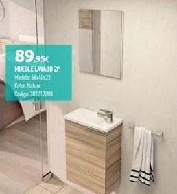 Oferta de Muebles de baño por 89.95€