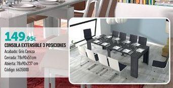 Oferta de Mesa extensible por 149,95€