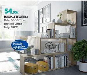 Oferta de Estanterías por 54.95€