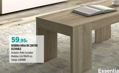 Oferta de Mesa de centro por 59,95€