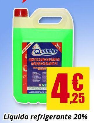 Oferta de Anticongelante Quimies por 4.25€