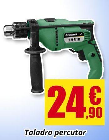 Oferta de Taladro percutor por 24.9€