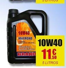 Oferta de Aceite para motor Brako por 11.5€