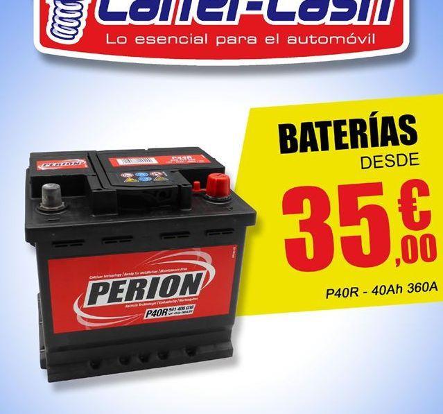 Oferta de Batería de coche Perion por 35.9€