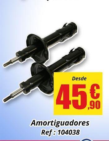 Oferta de Amortiguadores por 45.9€